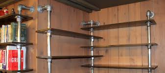 Steel Pipe Shelving by Diy Pipe Furniture Ideas Industrial Furniture Inspiration
