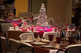 Home Design Christmas Banquet Table Decorations Diy And Settings