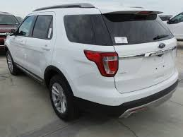Ford Explorer Trunk Space - new 2017 ford explorer xlt sport utility in port lavaca gb14116