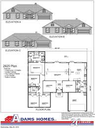Park Model Floor Plans by Carriage Park Adams Homes
