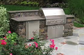 Outdoor Bbq Kitchen Designs Bbq Outdoor Kitchens Nj Built In Grill Fireplace Design Ideas