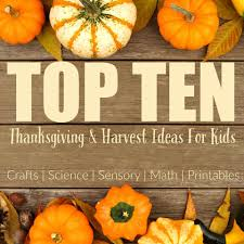 kids activities for thanksgiving top 10 thanksgiving sensory activities