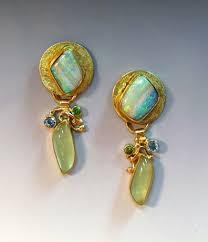 gaudy earrings 330 best opals earrings images on opal earrings