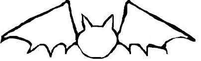 halloween crafts bats template pattern clip art library