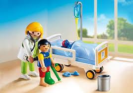 chambre d enfant playmobil chambre d enfant avec médecin 6661 playmobil