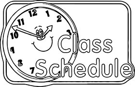 content center sign schedule 3rd grade coloring page wecoloringpage