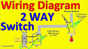 light switch outlet wiring diagram u0026 basic switch wiring