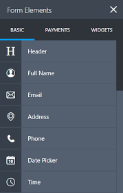how to create your first web form jotform