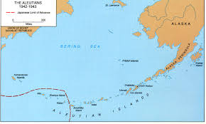 Kodiak Alaska Map by The Aleutians