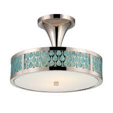 nuvo 62 145 2 light semi flush mount led ceiling lights