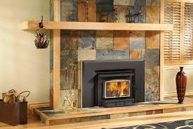 wood burning stove fireplace inserts modern rooms colorful design