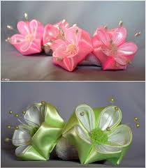 ribbon flowers these petal ribbon flowers are truly worth trying