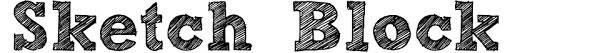 sketch block font download