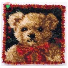 font b bear b font needlework latch hook rug kits cross stitch carpet cushion patchwork jpg