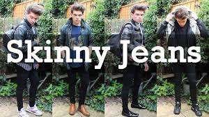how i style skinny jeans youtube