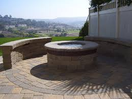 Fire Pits San Diego by San Diego Firepits Accurate Grading U0026 Paving