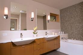 Lighting In Bathroom by Living Room Outstanding Greta Wall Sconce Contemporary Bathroom