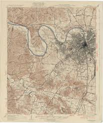 Tennessee City Map by