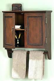 medicine cabinet with towel bar bathroom cabinet with towel rack engem me