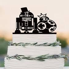 Star War Cake Topper R2d2 Bb8 Cake Topper Wedding Cake Topper