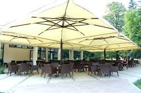 Offset Patio Umbrella With Base Offset Patio Umbrella Replacement Parts Treasure Garden Cantilever