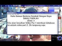 membuat database lewat cmd membuat database lewat cmd menggunakan xp part 2 youtube