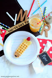 celebrate plate day of school breakfast idea chinet
