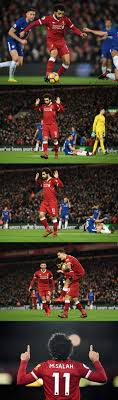 there was some confusion about why mohamed salah didn t celebrate