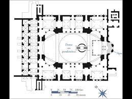 floor plan of hagia sophia images hagia sophia floor plan labeled