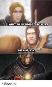 Harp Meme - what ami suppose to do now farm ap son bi harp dank meme on me me