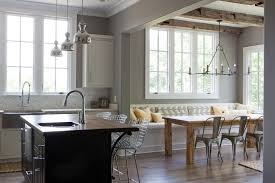 Kitchen Table With Built In Bench Rustic Foyer Table Kitchen Contemporary With Built In Seating