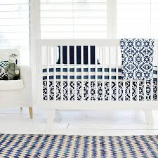 navy stripe crib sheet boy crib sheet blue fitted crib sheet