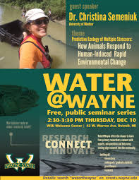 events urban watershed environmental research group wayne