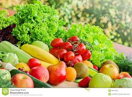 organic fruits and vegetables stock images image 36243064