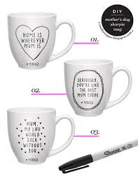 s day mugs diy mothers day sharpie mug gift idea tutorial via maiko nagao