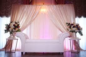 muslim backdrops taj boston muslim wedding reception backdrop ivory wedding