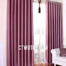 Stylish Blackout Curtains Pink Shabby Chic Trendy Stylish Simple Faux Silk Blackout Curtains