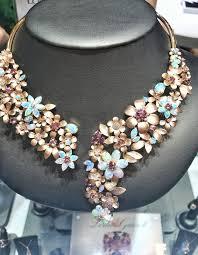 opal flower necklace images Britt 39 s jck las vegas pick parl 39 s opal flower necklace jck jpg