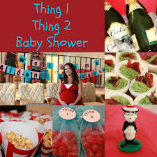 thing 1 and thing 2 baby shower best inspiration from