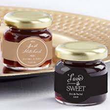 jam wedding favors personalized stawberry wedding favor jam set of 24