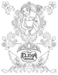 disney u0027s elena avalor coloring pages sheet free disney