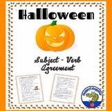 subject verb agreement grammar worksheets by happyedugator tpt