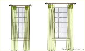 how high to hang curtains how to hang curtains high and wide to make your window 2 hanging