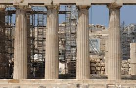 Parthenon Interior Acropolis Restoration Service