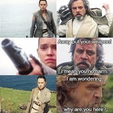 Memes De Star Wars - star wars los mejores memes de luke skywalker y rey