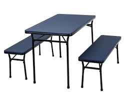 cosco indoor outdoor folding table and bench set walmart canada