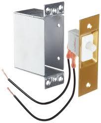 Closet Door Jamb Switch Morris Products 70420 Door Switch Doorbell Push Buttons