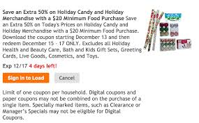 holiday coupon dec 15 17 only get an extra 50 off holiday candy
