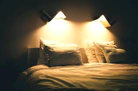 wall mounted bedside reading lights design nice ideas light for
