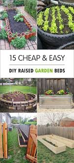 Diy Garden Bed Ideas Cheap Easy Diy Raised Garden Beds